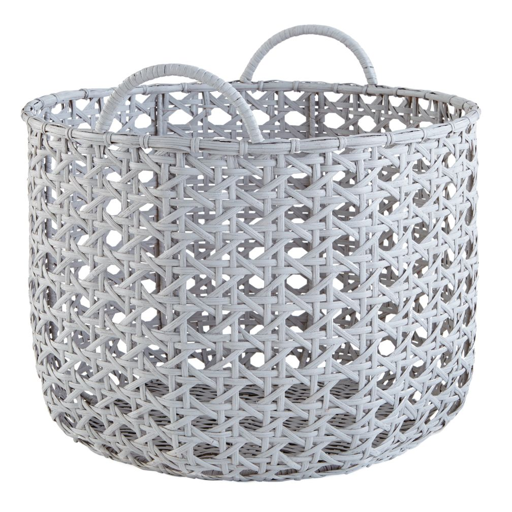 Lattice Floor Bin (Grey)