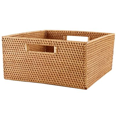 Rattan Large Changer Basket (Honey)