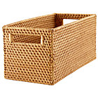 Honey Rattan Small Changer Basket