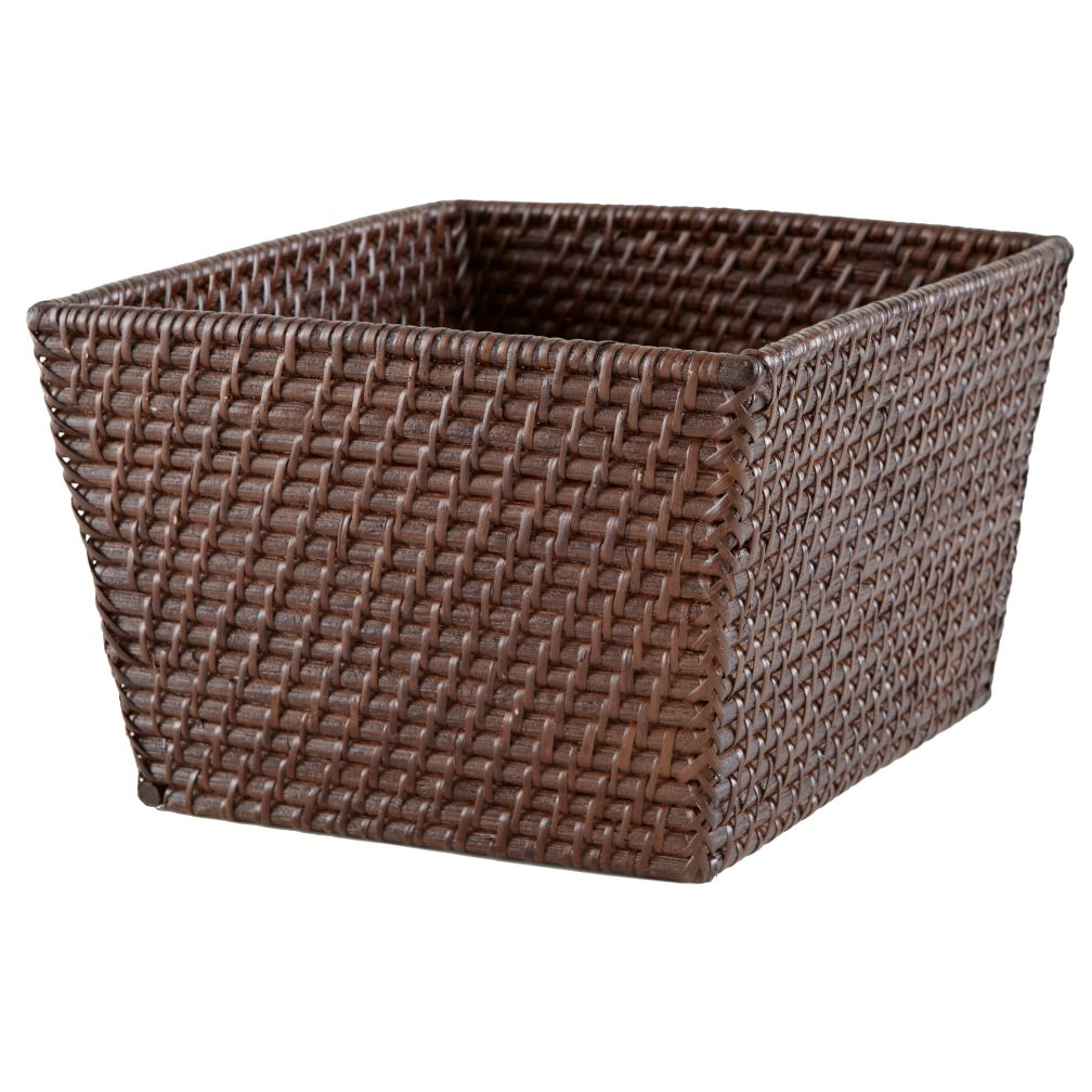 Rattan Shelf Basket (Espresso)