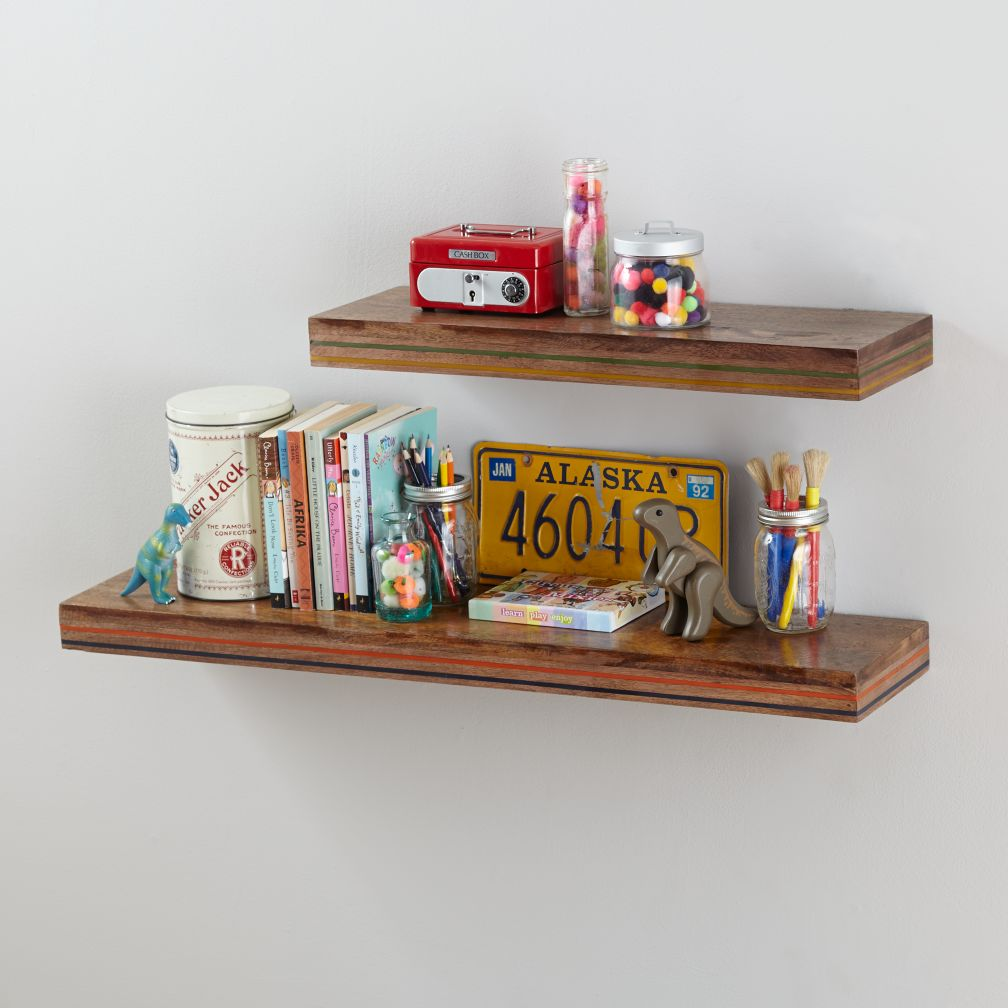 Ingrained Wall Shelf