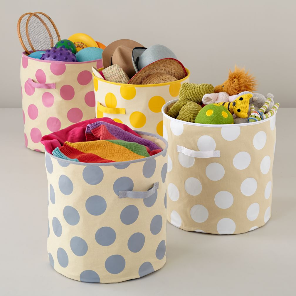 Dotted Floor Bin