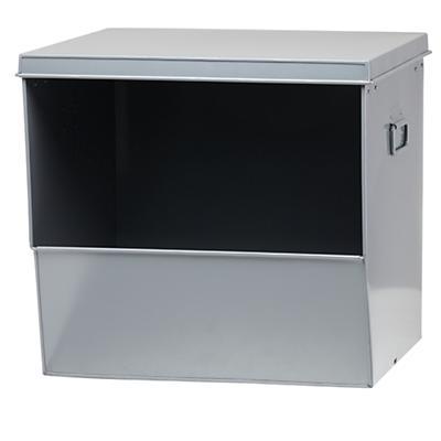 Stack Up Metal Bin (Grey)