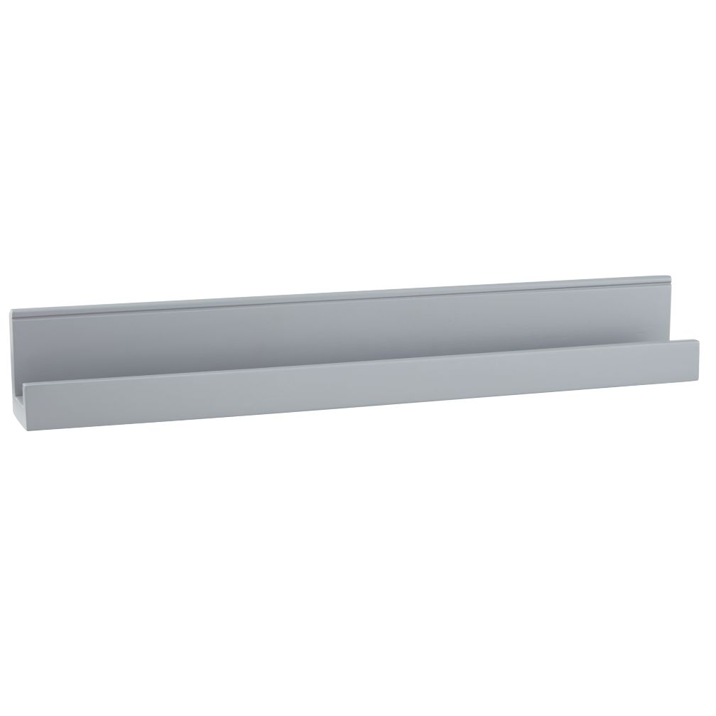 Straight & Narrow Book Ledge (Grey)