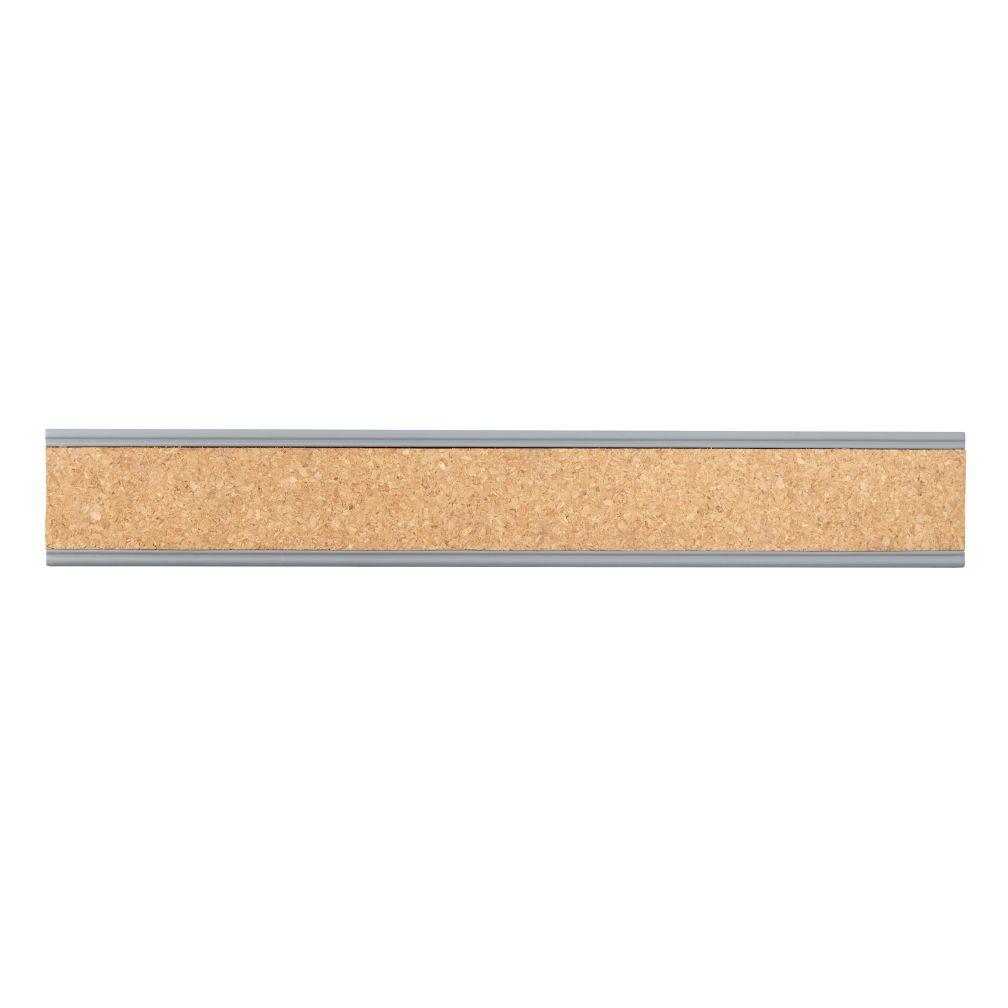 Straight & Narrow Cork Rail (Grey)