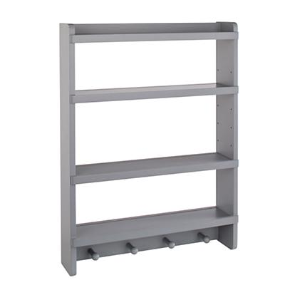 Straight & Narrow Wall Rack (Grey)