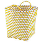 Large Yellow Strapped for Storage Bin