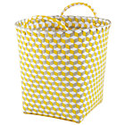 Medium Yellow Strapped for Storage Bin