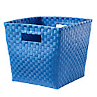 Blue Cube Bin