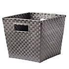 Grey Cube Bin