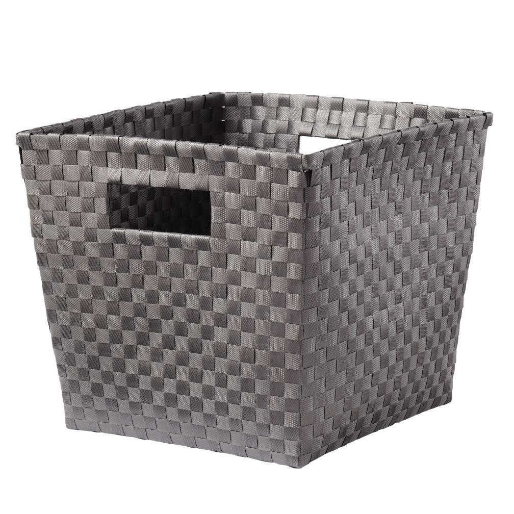 Strapping Cube Bin (Grey)
