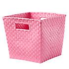 Pink Cube Bin