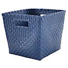 Dk. Blue Cube Bin