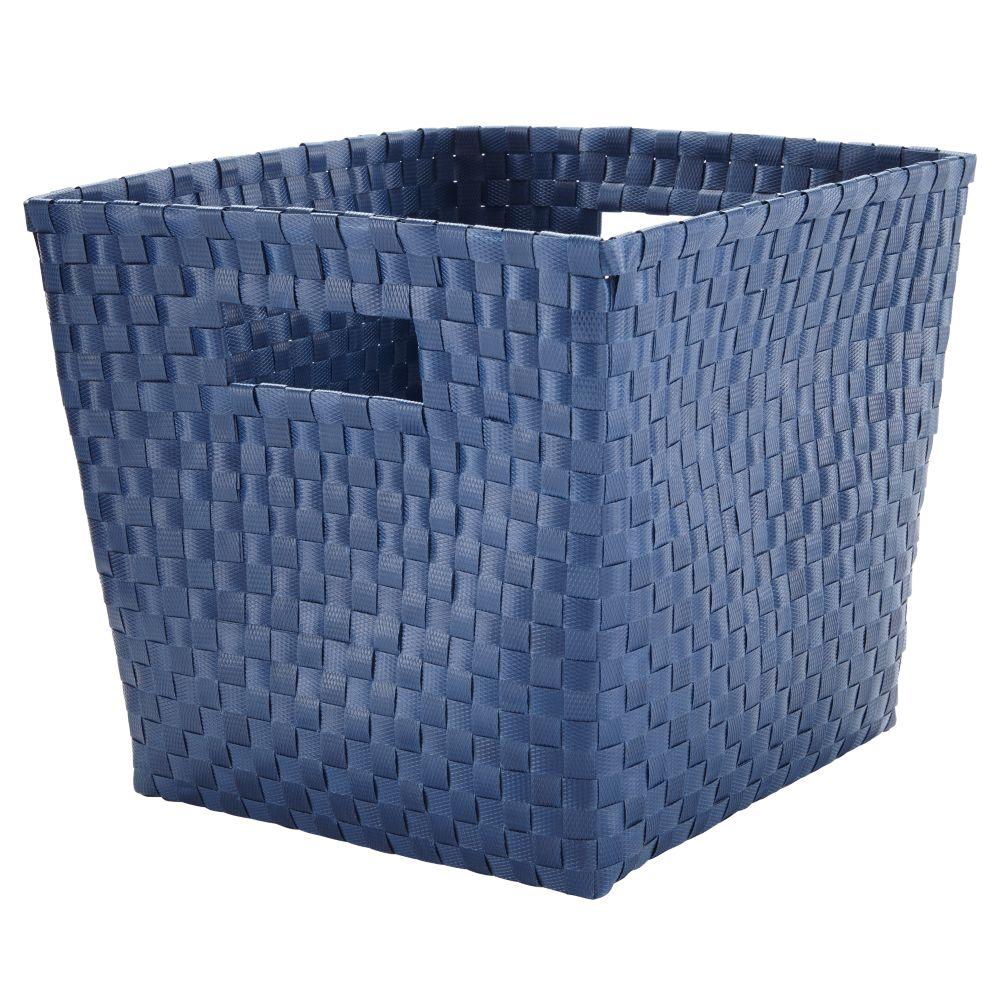 Strapping Cube Bin (Dk. Blue)