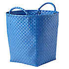 Blue Floor Bin