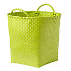 Lime Green Floor Bin