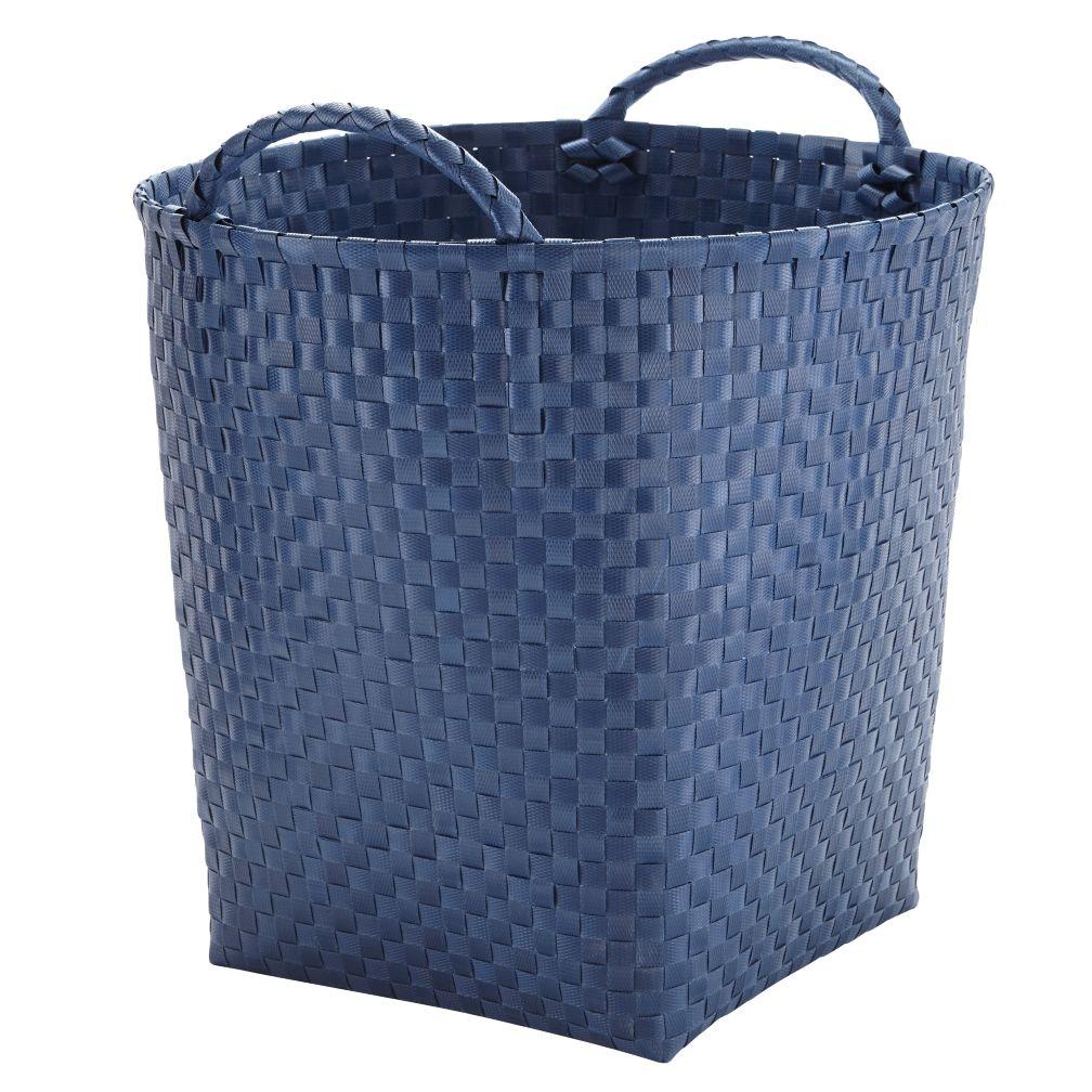 Strapping Floor Bin (Dk. Blue)