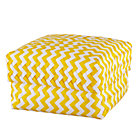Large Yellow Zig Zag Basket