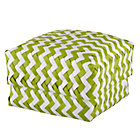 Medium Green Zig Zag Basket