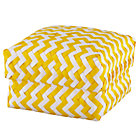 Medium Yellow Zig Zag Basket