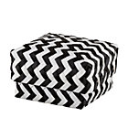 Small Black Zig Zag Basket