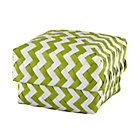 Small Green Zig Zag Basket