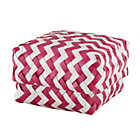 Small Pink Zig Zag Basket