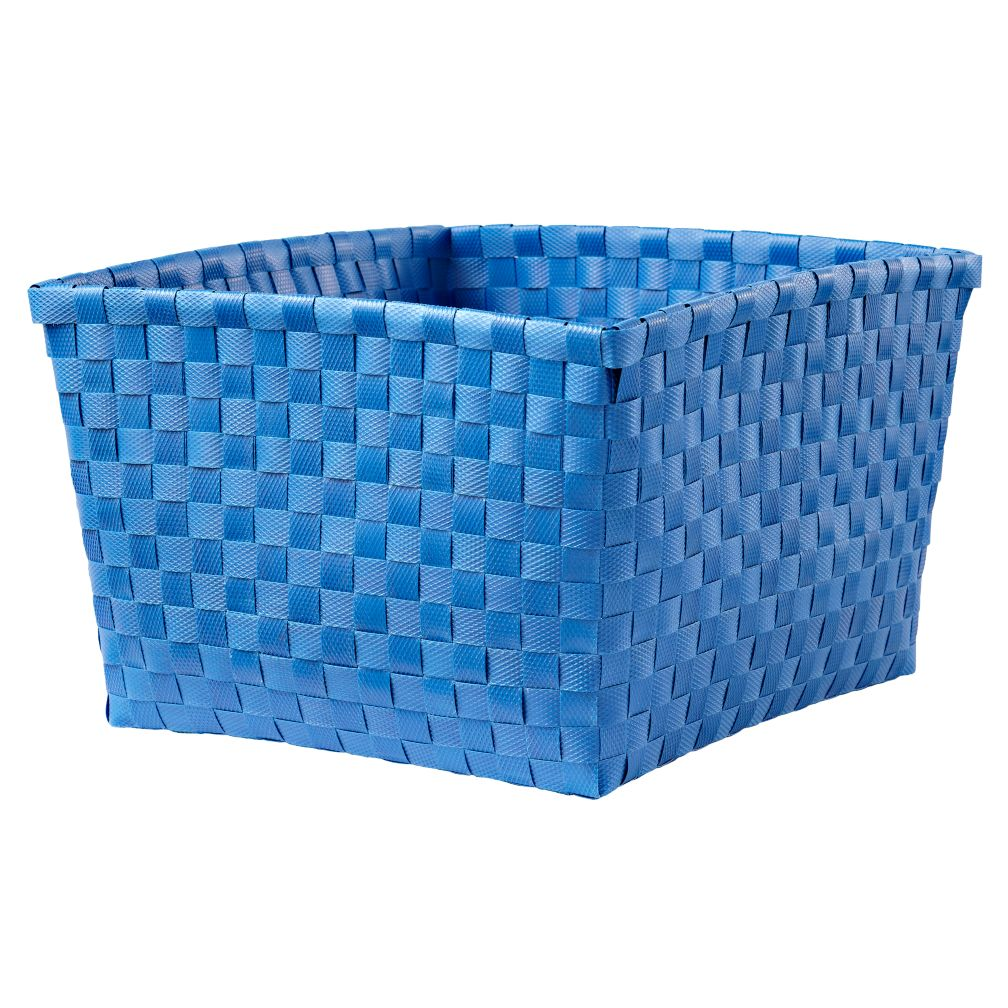 Strapping Shelf Basket (Blue)