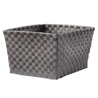 Strapping Shelf Basket (Dk. Grey)