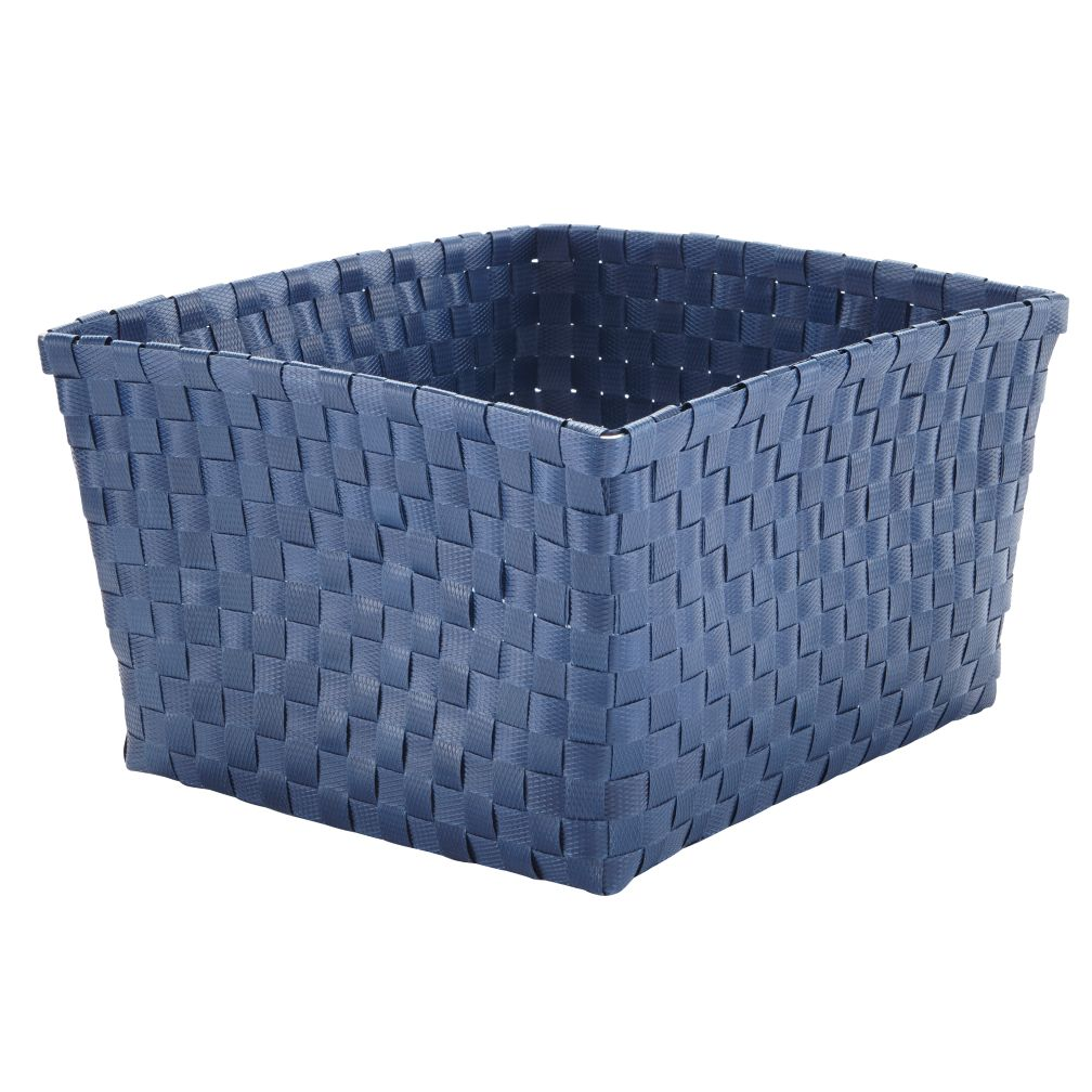 Strapping Shelf Basket (Dk. Blue)