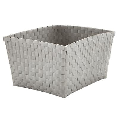 Strapping Shelf Basket (Grey)