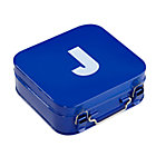 Blue J Letter Metal Box