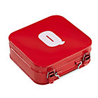 Red Q Letter Metal Box