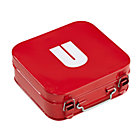 Red U Letter Metal Box