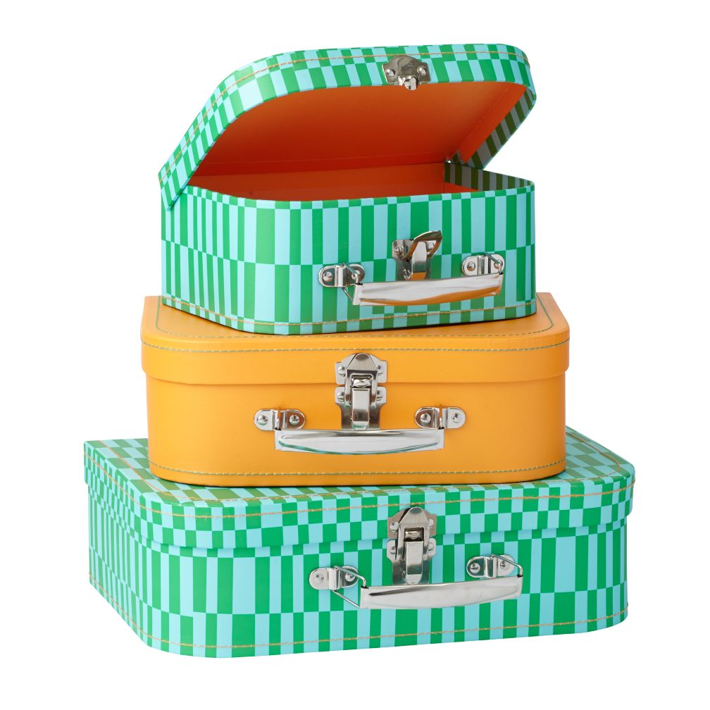 Bon Voyage Suitcase Set (Green)