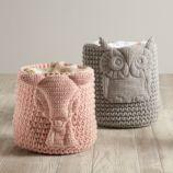 Wee Woodland Crochet Bin