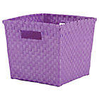 Lavender Cube Bin