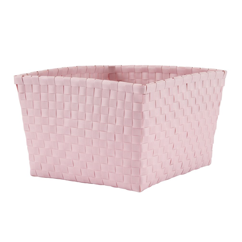 Strapping Shelf Basket (Lt. Pink)