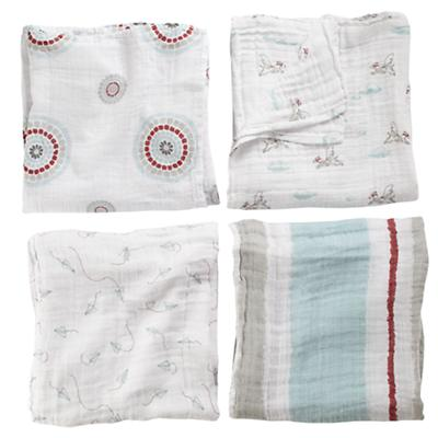 Liam the Brave Swaddle Blankets