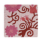 Swatch Pink Garden Floral Rug