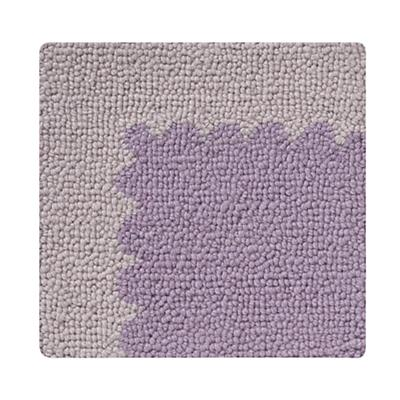 Lavender Picture Frame Rug Swatch