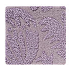 Swatch Lavender Raised Floral Rug