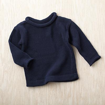 12-18 mos. MJK Knit Sweater (Blue)