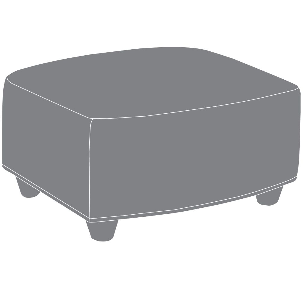 Swivel Glider Ottoman (Stock Plus Pattern)