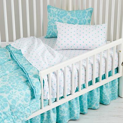 Dream Girl Toddler Bedding (Aqua)