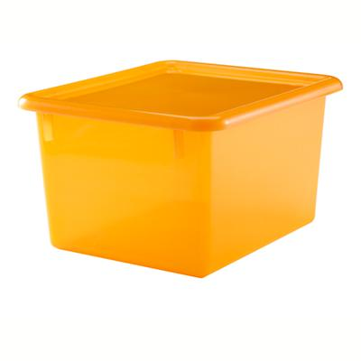 Orange Shelf Top Box