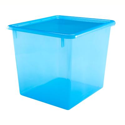 "Blue 10"" Top Box"