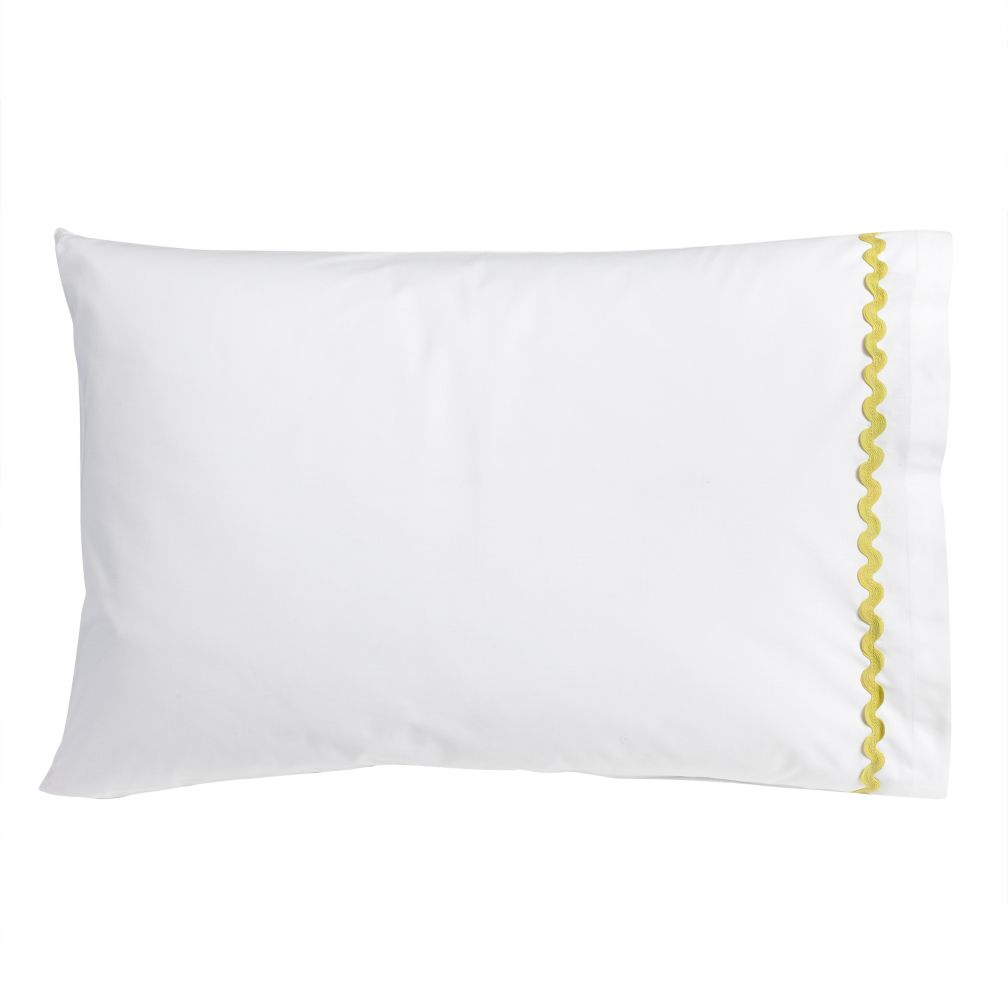 Ric Rac Pillowcase (Green)