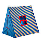 Blue/Khaki Stripe Indoor Explorer Pup Tent