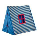 Indoor Explorer Pup Tent (Blue Stripe)